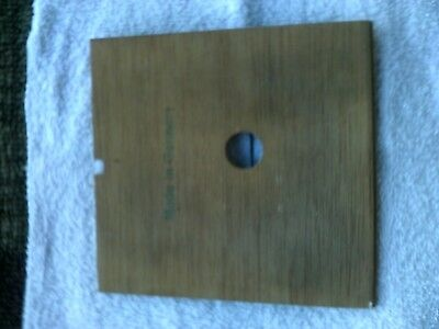Used Cuckoo Clock Parts: Back Cover Good Condition.....