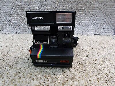 +++ Polaroid Sofortbildkamera Supercolor 635 CL  Kamera +++