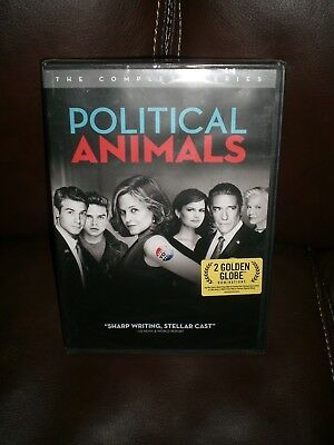 Political Animals: The Complete Series [New DVD] 2 Pack, Eco Amaray Case