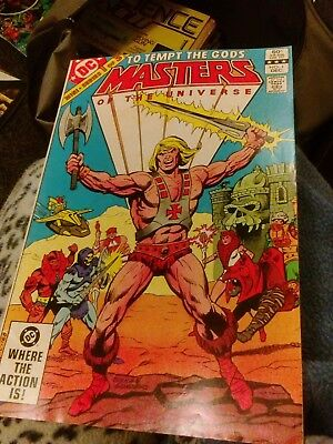 DC master of the universe from america comic issue  1 1982