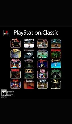 Sony PlayStation Classic Console! BRAND NEW! PREORDER! LOOK! WOW!