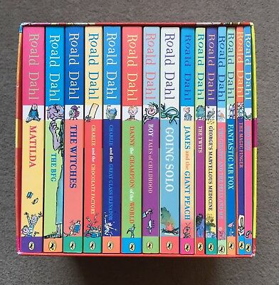 Roald Dahl Phizz-Whizzing Collection 15 Books Box Set