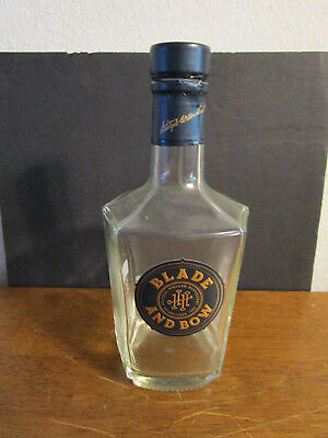 750 mL Blade and Bow Kentucky Straight Bourbon Whiskey Bottle [EMPTY]