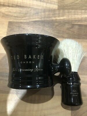 Ted Baker Shaving Mug And Brush