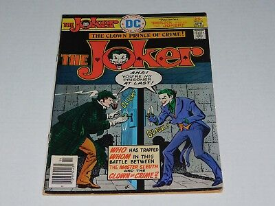 The Joker The Clown Prince of Crime 1975 DC Comic Book #3 & #6
