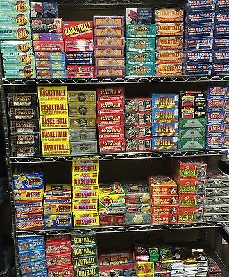 Fun Lot of 50 Unopened Vintage-Current Baseball Cards in Packs Huge Assortment