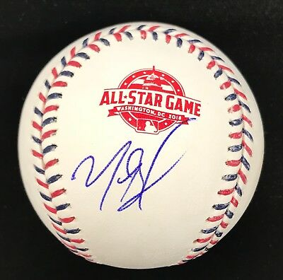 Mookie Betts Signed Autographed 2018 All Star Game Baseball Boston Red Sox