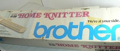 Brother KX-350 Home Knitter Knitting Machine in Box w/ All Parts NO INSTRUCTIONS