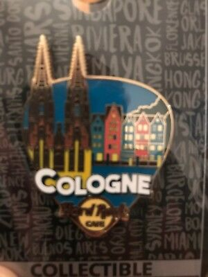 Hard Rock Cafe Pin Core Greetings From Cologne