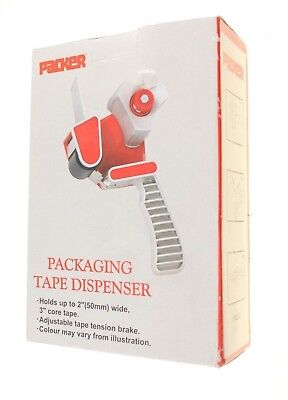 Packer Packaging Tape Dispenser 2Inch/ 50Mm Tape/ 3Inch Core Tape New