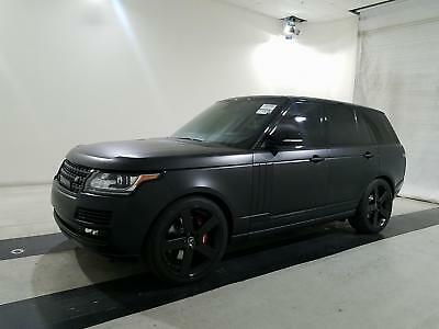 2014 Land Rover Range Rover SUPER CHARGED 2014 LAND ROVER RANGE ROVER , WRAPPED , CELEBRITY CAR ,MINT,48000 MILES