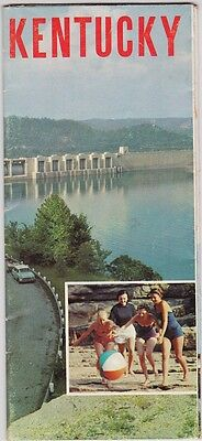 c1960 Kentucky State Tourism Promotional  Brochure