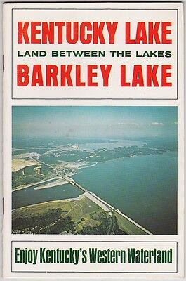 1960's Kentucky And Barkley Lakes Promotional Booklet