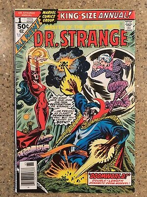 Dr. Strange Annual 1 (VF  1976) Lectra; P Craig Russell Coplot & Art