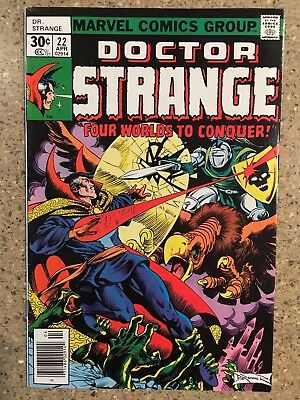 Dr. Strange 22 (VF  1977) Clea; Apalla 1st appearance-cameo;Frank Brunner cover