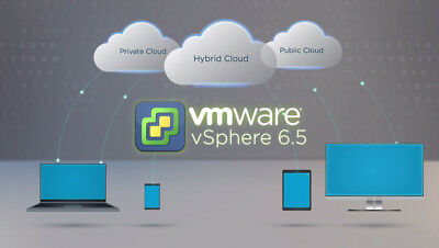 VMWARE ESXI hypervisor 6+6.5+6.7 vSphere Enterprise Plus Key activation instant