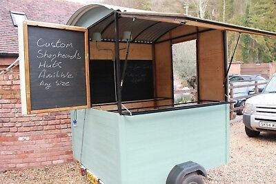 Catering trailer Shepherd's Hut not horse box bar Prosecco