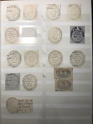 Unusual Cancellations Of Lancaster Chancery County Palatine And Newspaper Stamps