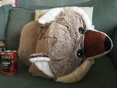 Large Furry  Fox Foot Warmer New With Tags