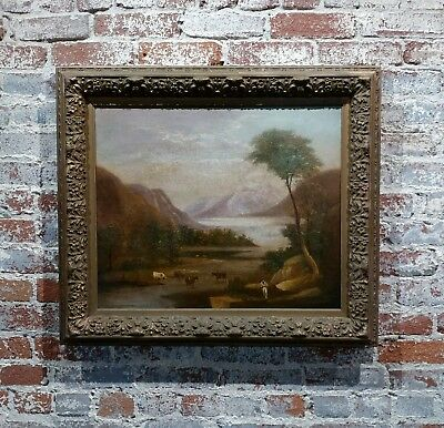 Thomas Doughty -Pastoral Landscape -Oil painting circa 1820s