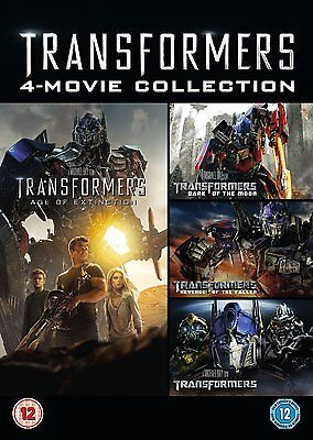 1 2 3 4 5 Transformers 1 - 5 the movie collection