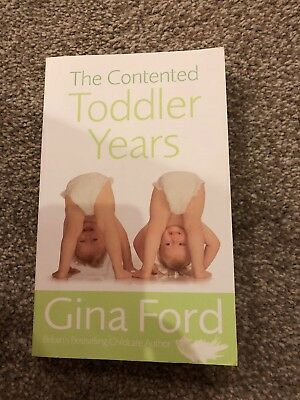 The Contented Toddler Years, Gina Ford.