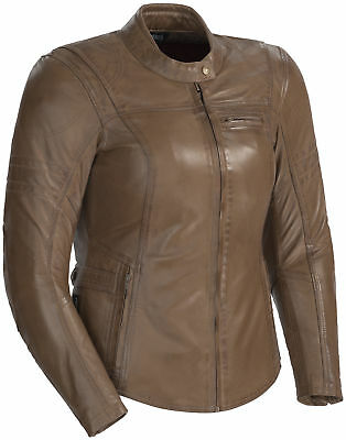 Cortech BELLA Vintage Brown Womens Leather Jacket