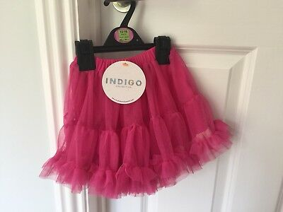 BNWT M&S Baby Girls Pink Tutu/ Skirt 12-18 Months