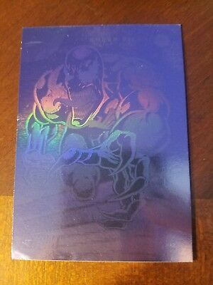 Venom Hologram Advance Comics Promo Card Impel 1992 Marvel Sdcc Venom Movie