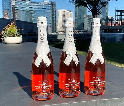 💥 LOT OF 6 - Moet & Chandon x Off-White Virgil Abloh Champagne - WITH BOX  💥