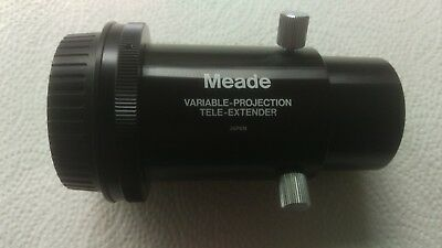 Meade variable projection tele extender with Canon AF mount.