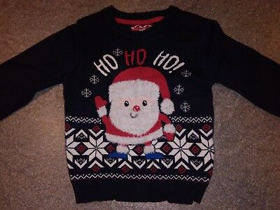 boys christmas jumper age 18-24months