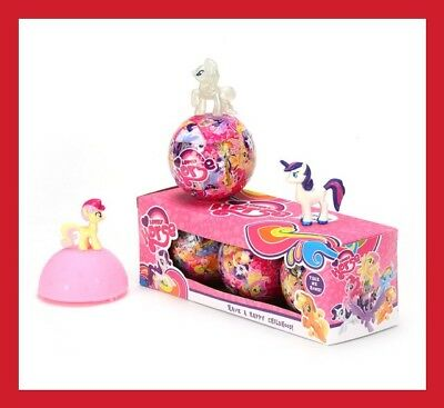 Lot 3 Licorne Little Poney Oeuf Poupee Figurine Lol Surprise Jeu Jouet Enfant