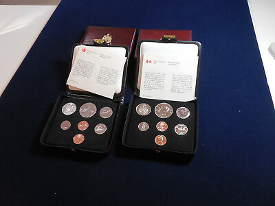 4 Canadian Double Penny Sets (1976-1979) (cn7)