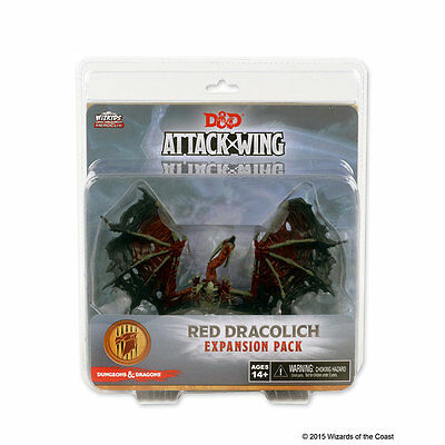 Red Dracolich - Dungeons & Dragons Attack Wing -