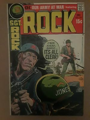 Our Army At War #226 (Vg/f 5.0) 1970 Sgt. Rock! Russ Heath Story & Art!