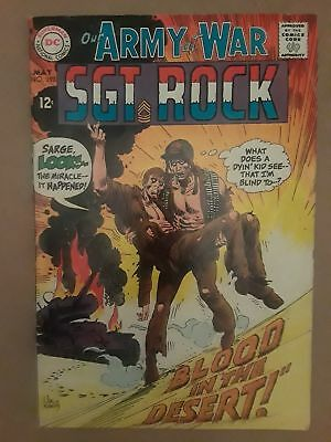 Our Army At War #193 (Vg 4.0) 1968 Dc Comics! Sgt. Rock! Joe Kubert Cover & Art