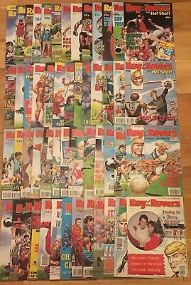 Roy of the Rovers 1989 Complete Year - 52 Comics Excellent Condition