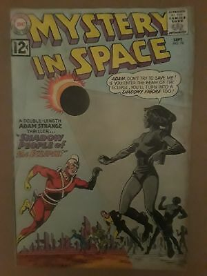Mystery In Space #78 (Fr 1.0) Dc Comics! Adam Strange Cover & Appearance