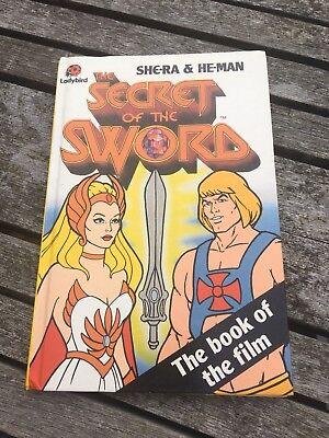 Vintage She-ra and he-man - Secret Of The Sword