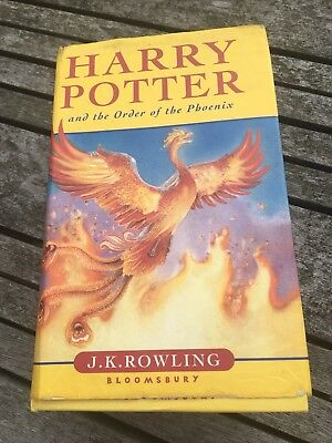 Harry Potter - Order Of The Phoenix - First Edition 2003