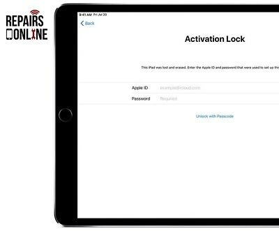 iPad 2 3 4 Mini 1 3G Cellular iCloud Removal Activation Bypass Repair Service