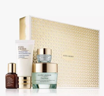 Estee Lauder Protect & Hydrate Gift Set 4Pcs - New & Boxed - £70 Worth -Free P&p