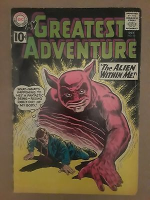 MY GREATEST ADVENTURE #60 (G/VG 3.0) DC COMICS! 10 cent cover