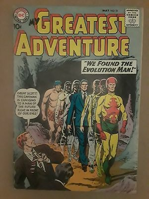My Greatest Adventure #31 (G/vg 3.0) Dc Comics! 10 Cent Cover