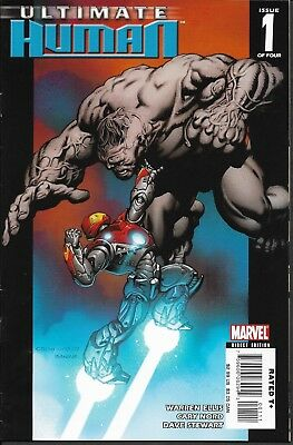 Marvel ULTIMATE HUMAN No.1 (of 4) (March, 2004) VF