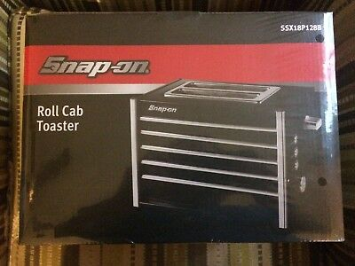 Snap-On Black Roll Cab Toaster SSX18P128B