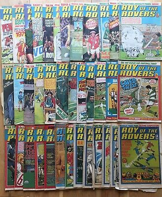 Roy of the Rovers 1970s Bundle 37 issues 1976 1977 1978 1979