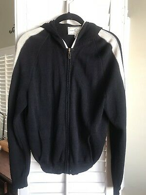 St. John Sport By Marie Gray Black Hoodie Sweater Size Med  Excellent!