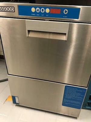 Commercial dishwasher and trays brand Asgood, one year used like brand new